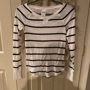 Striped PINK by Victoria's Secret thermal